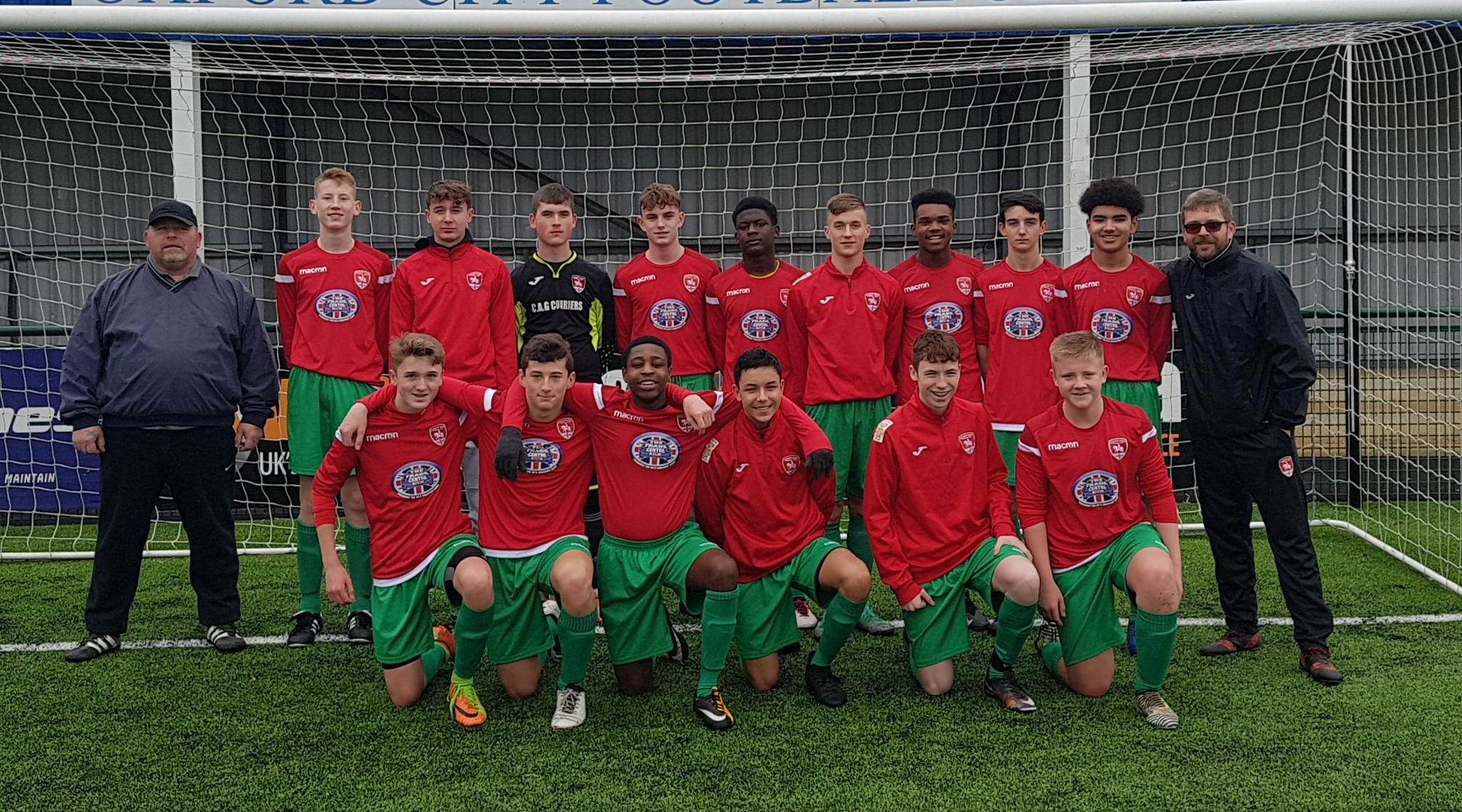 Sponsorship secured for up-and-coming Coventry football team image