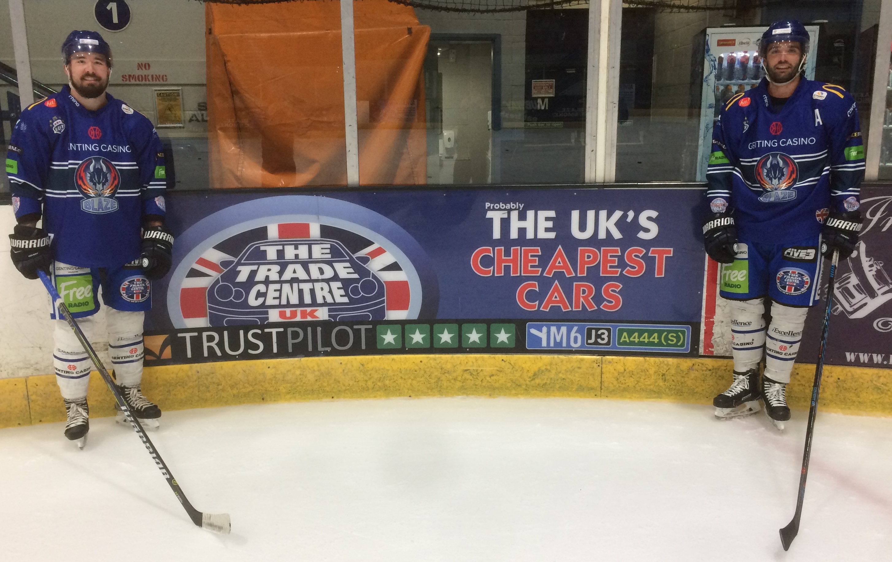 Trade Centre UK extends sponsorship of elite ice hockey team from the UK's European City of Sport image