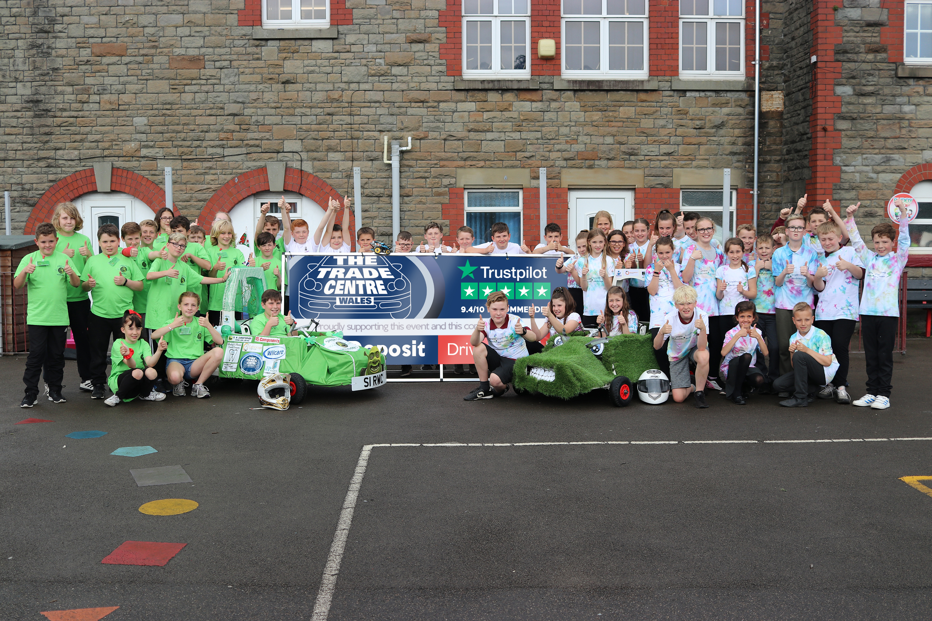 Winning kit car storms ahead thanks to Trade Centre Wales sponsorship image