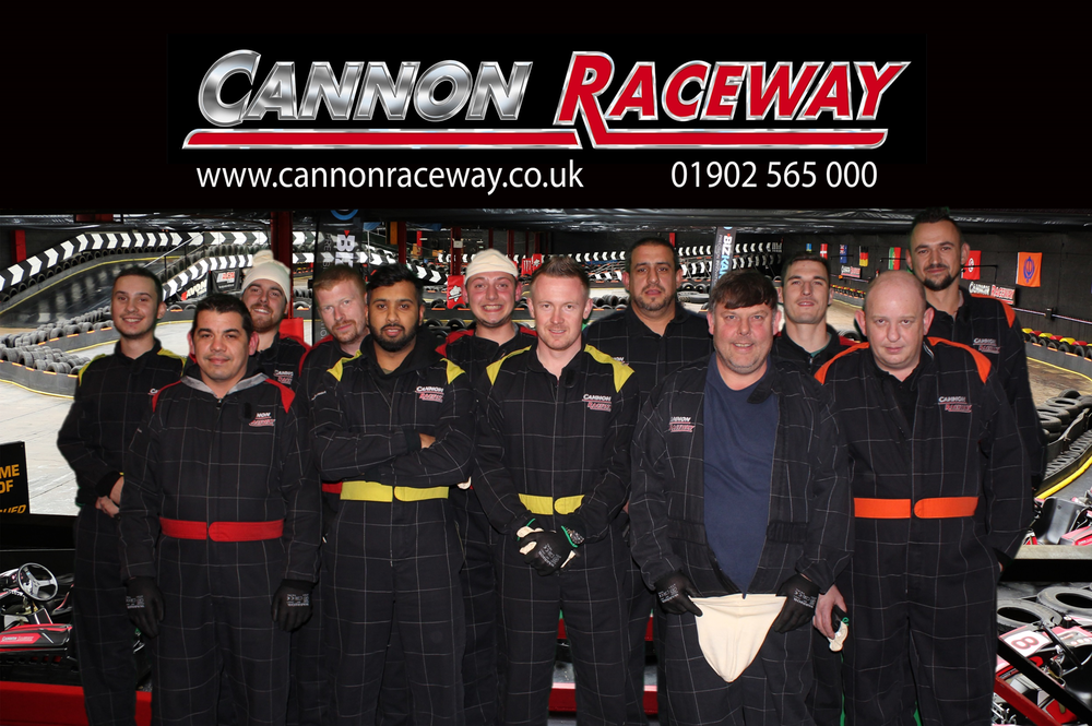 The Trade Centre UK Bodyshop Team Take on Cannon Raceway image