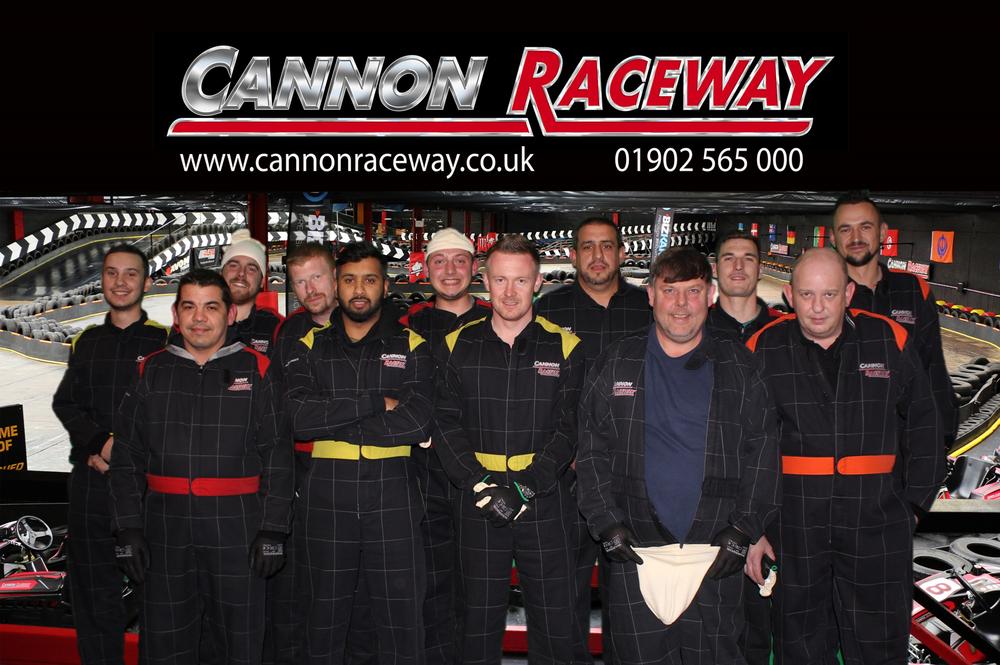 The Trade Centre UK Bodyshop Team Take on Cannon Raceway image